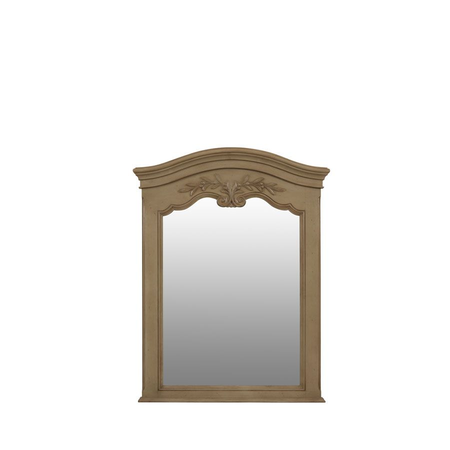 Miroir trumeau rectangulaire marron interior 39 s for Miroir rectangulaire