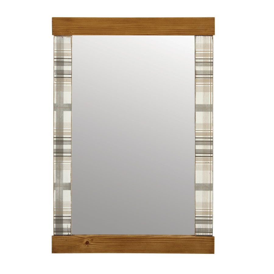 Miroir rectangulaire Louis naturel
