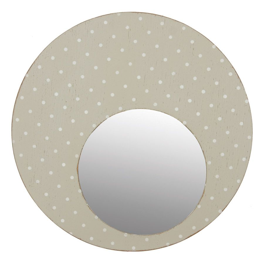 Miroir rond gris gris interior 39 s for Miroir rond gris
