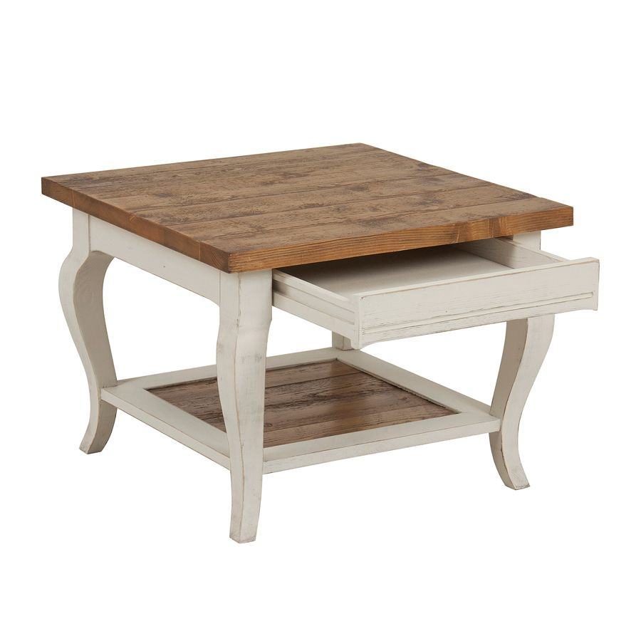 table basse bout de canap 1 tiroir blanc interior 39 s. Black Bedroom Furniture Sets. Home Design Ideas