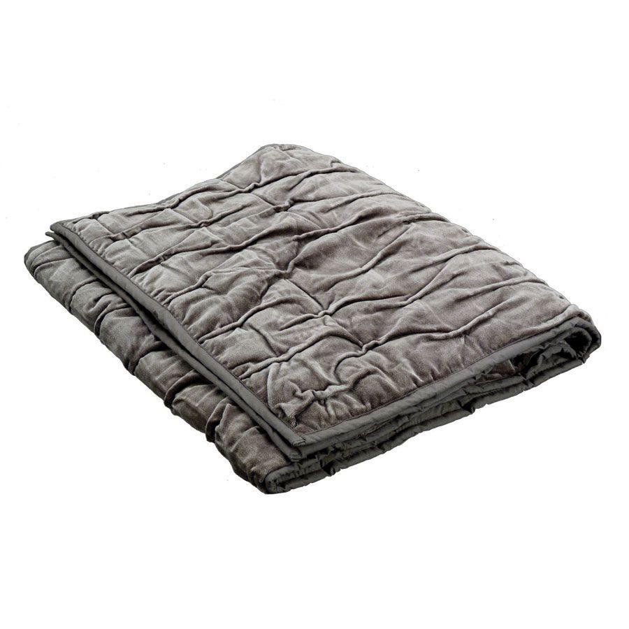 chemin de lit en coton 170x50 marron interior 39 s. Black Bedroom Furniture Sets. Home Design Ideas