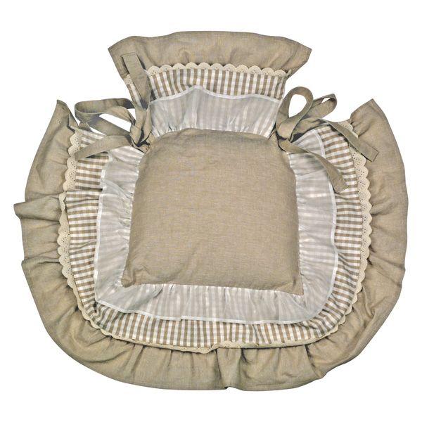 dessus de chaise a volant 13 mod le galette de chaise. Black Bedroom Furniture Sets. Home Design Ideas