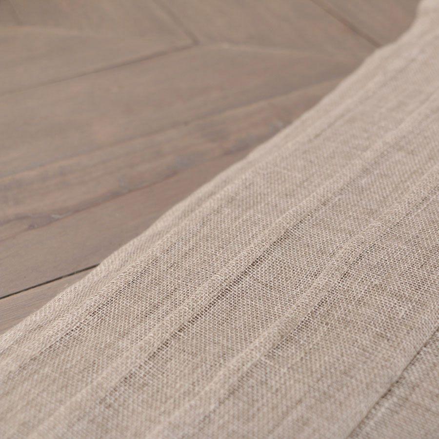nappe en gaze de lin 170x170 naturel interior 39 s. Black Bedroom Furniture Sets. Home Design Ideas