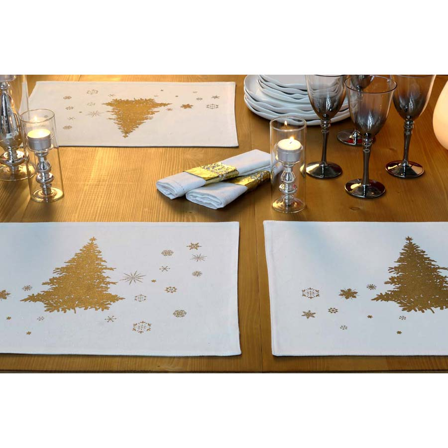 Set de table en coton 45x35