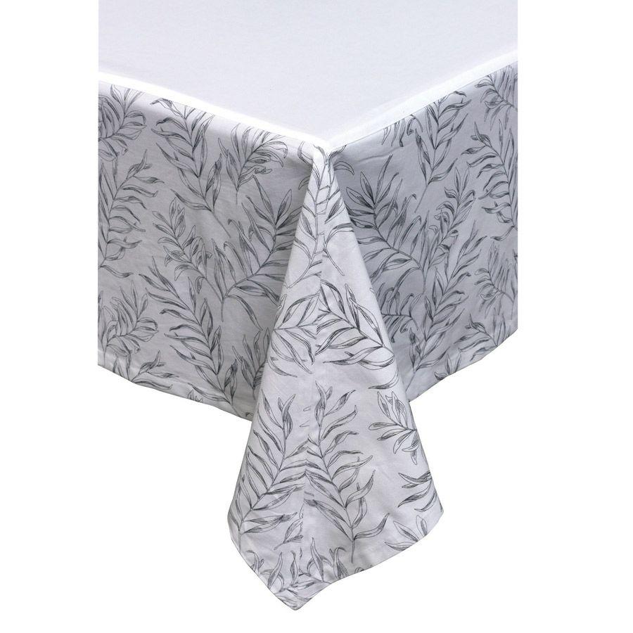 nappe en coton 260x170 blanc interior 39 s. Black Bedroom Furniture Sets. Home Design Ideas