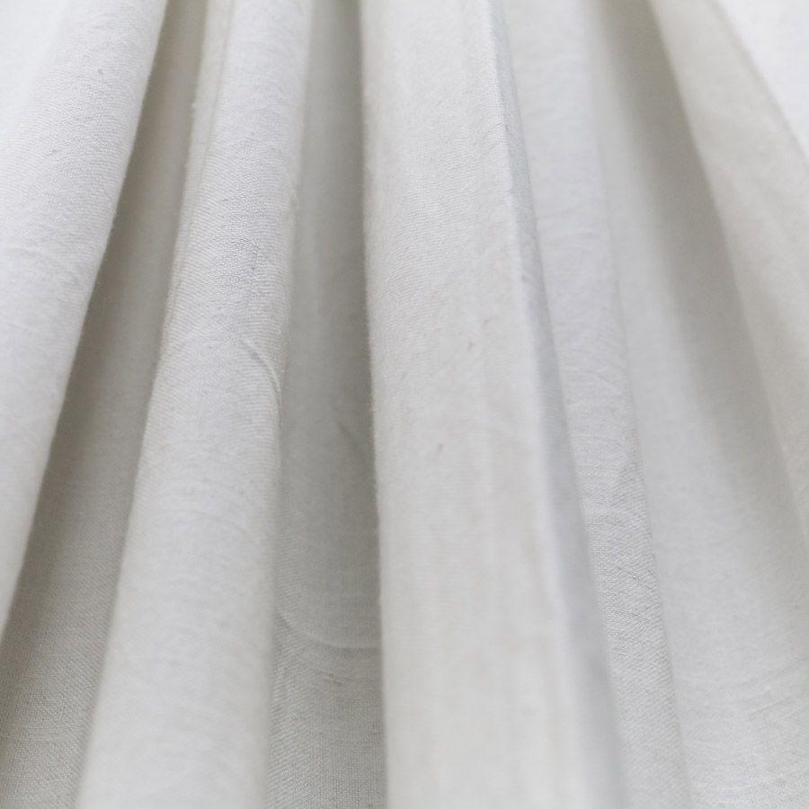 rideau en coton et lin 140x270 gris interior 39 s. Black Bedroom Furniture Sets. Home Design Ideas