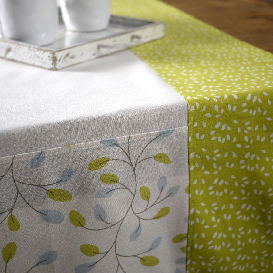nappe en coton et lin 160x160 blanc interior 39 s. Black Bedroom Furniture Sets. Home Design Ideas