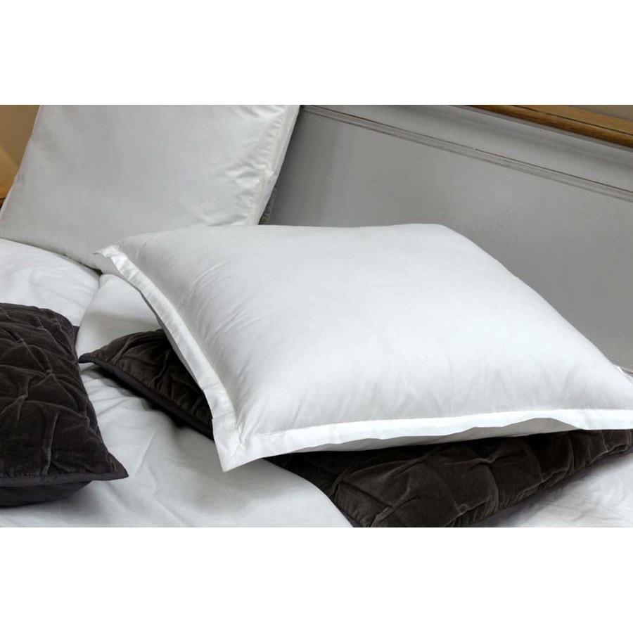 taie d 39 oreiller en coton 60x60 blanc interior 39 s