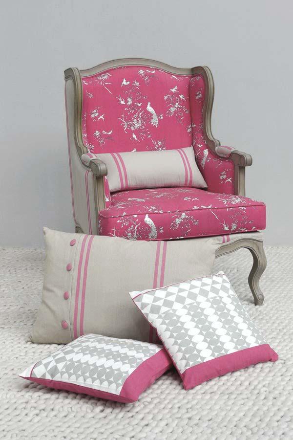 housse de coussin en coton et lin 40x40 autre interior 39 s. Black Bedroom Furniture Sets. Home Design Ideas