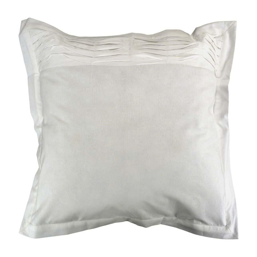 taie d'oreiller en coton 60x60 - blanc - interior's