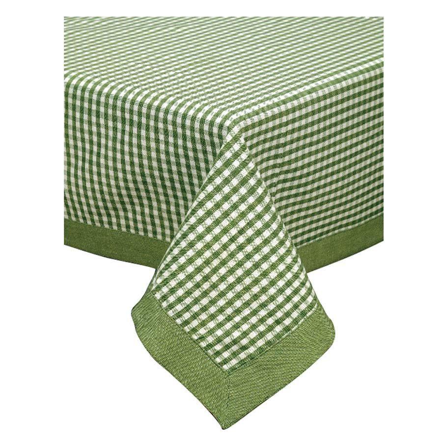 Nappe Motif Bois : Nappe motif vichy vert 160×160 – D?coration – Interior's : meubles