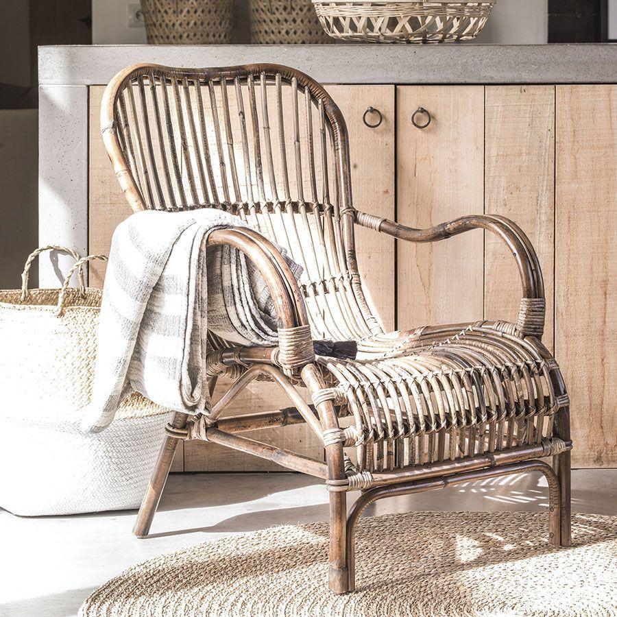 fauteuil rotin Interior's
