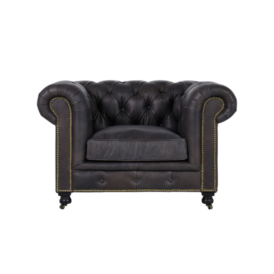 Fauteuil cuir Coventry