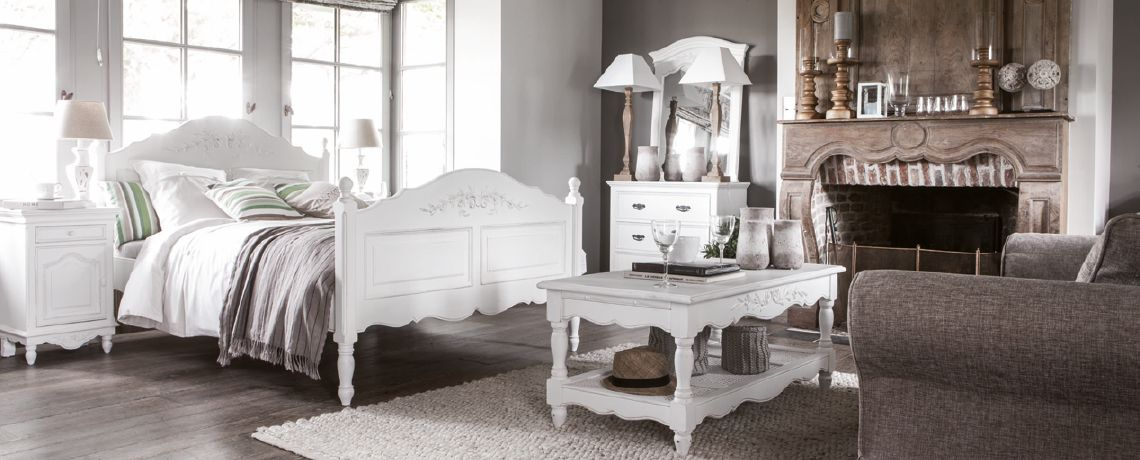 Meuble romantique chic meuble duappoint romantique campagne chic meubles with meuble romantique - Chambre style campagne anglaise ...