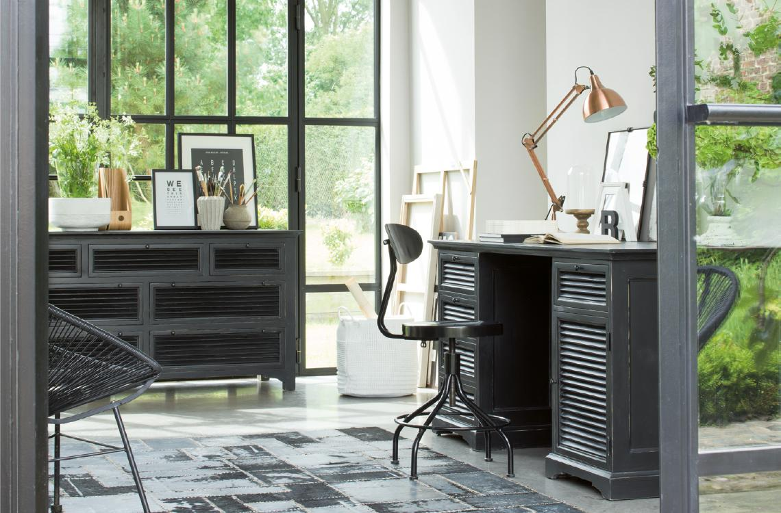 Riviera Maison Bureau The Desk : Mobilier style riviera collections de meubles patinés