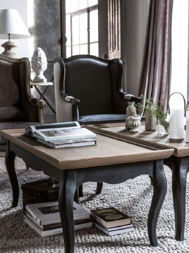 Interiors  Meubles bois massif, décoration  salon, chambre, bureau,  -> Table Basse Interiors