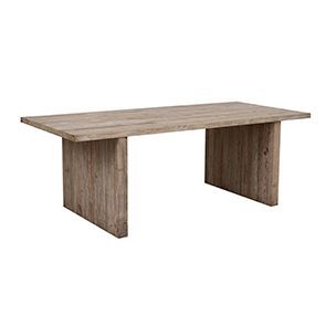 Table rectangulaire 8/10 couverts en pin – Embruns