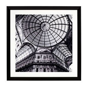 Tableau photo architecture Milan 65 x 65 cm