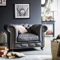 Fauteuil cuir Coventry - Visuel n°2