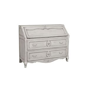 Commode scriban 2 tiroirs 1 abattant
