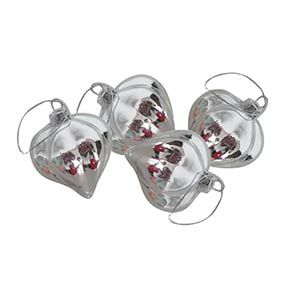 Suspension en verre (lot de 4)
