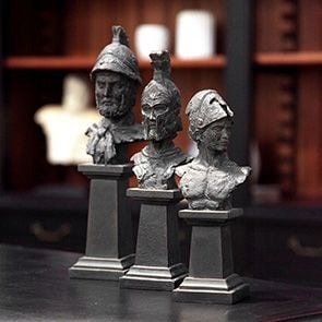 Trio de statues gladiateurs
