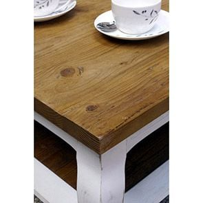 Table basse rectangulaire 1 tiroir