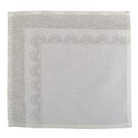 Serviette de table Flocons et Dentelles