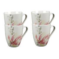 Mugs en porcelaine (lot de 4)