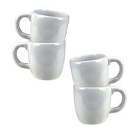 Mugs en faïence (lot de 4)