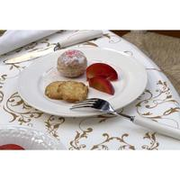 Assiette à dessert en porcelaine (lot de 4)