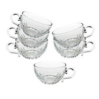 Tasses en verre (lot de 6)