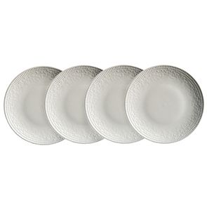 Assiettes à dessert en porcelaine (lot de 4) - Visuel n°1