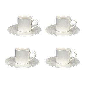 Tasses à expresso en porcelaine (lot de 4) - Visuel n°1