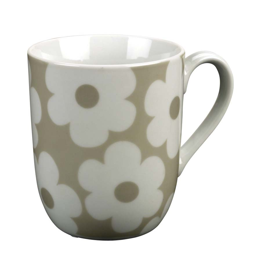 mug en porcelaine beige interior 39 s. Black Bedroom Furniture Sets. Home Design Ideas