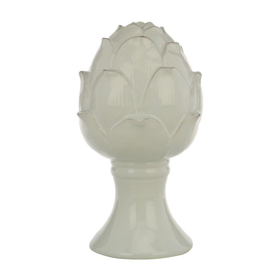 artichaut d coratif en c ramique blanc interior 39 s