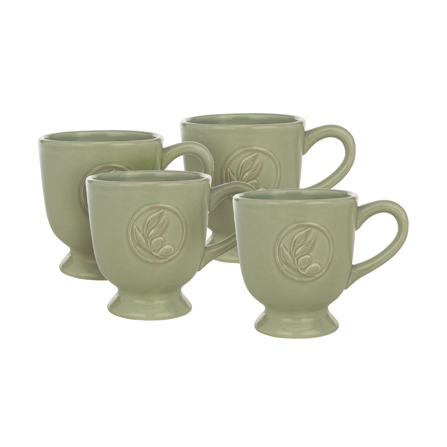 Mugs en grès (lot de 4)