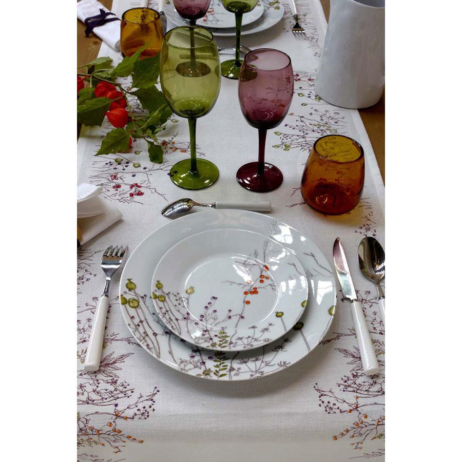 Assiette dessert en porcelaine blanc interior 39 s - Decoration assiette dessert ...