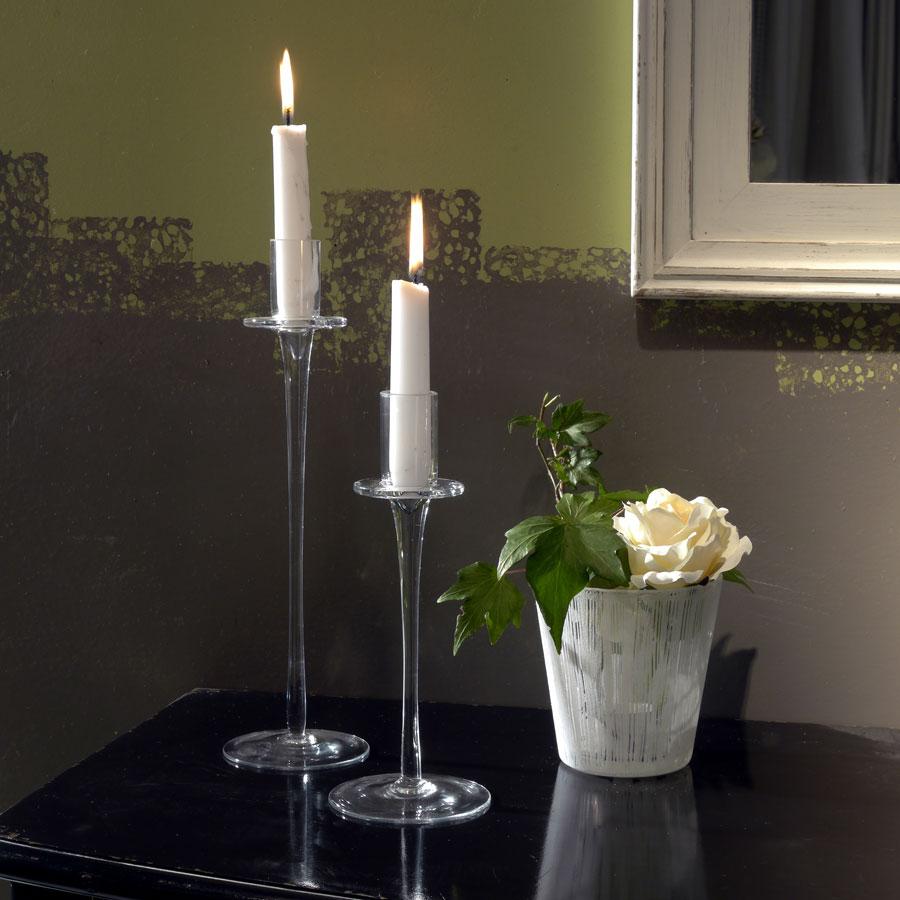 bougeoir sur pied en verre autre interior 39 s. Black Bedroom Furniture Sets. Home Design Ideas