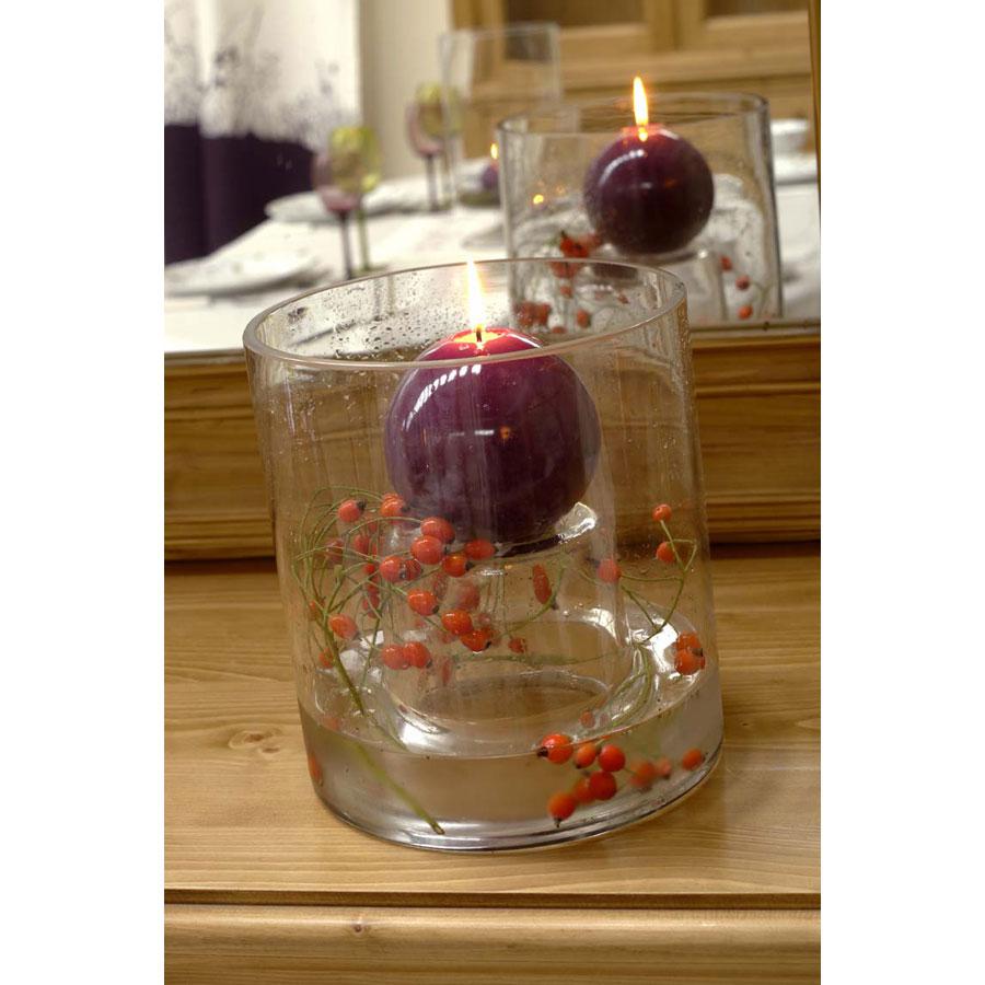 photophore vase en verre transparent interior 39 s. Black Bedroom Furniture Sets. Home Design Ideas