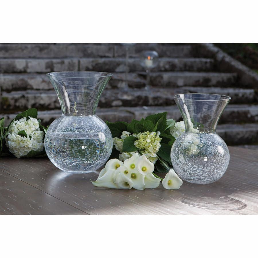 vase ovale en verre transparent vase photophore sur pied verre fum gris tara xl xl with vase. Black Bedroom Furniture Sets. Home Design Ideas