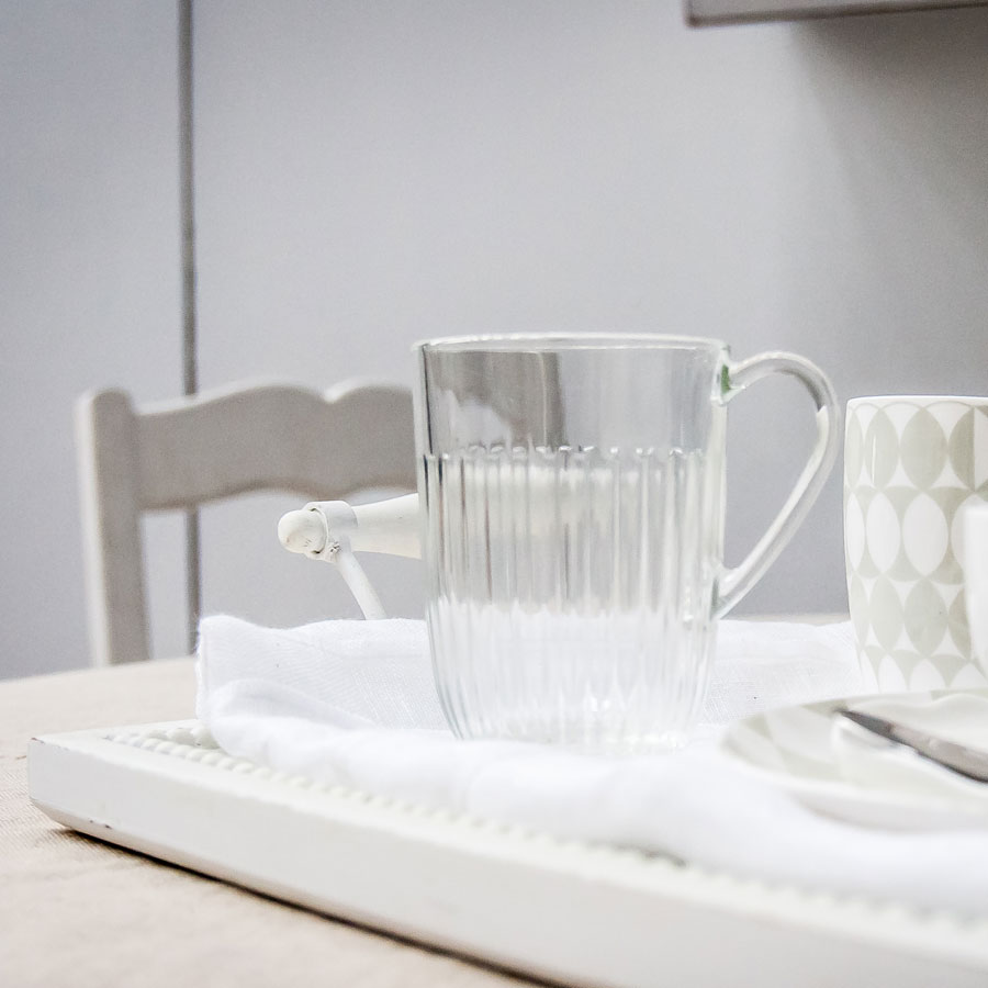 Mugs en verre (lot de 6)