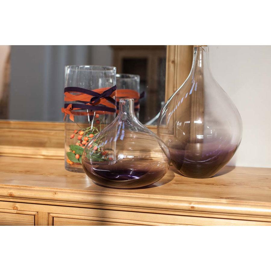 vase en verre violet violet interior 39 s. Black Bedroom Furniture Sets. Home Design Ideas