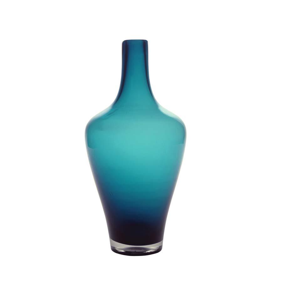 vase en verre bleu bleu interior 39 s. Black Bedroom Furniture Sets. Home Design Ideas