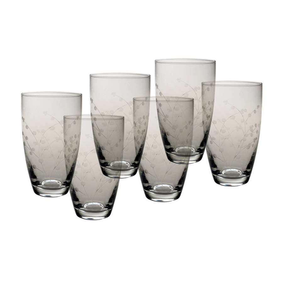 verres orangeade lot de 6 transparent interior 39 s. Black Bedroom Furniture Sets. Home Design Ideas