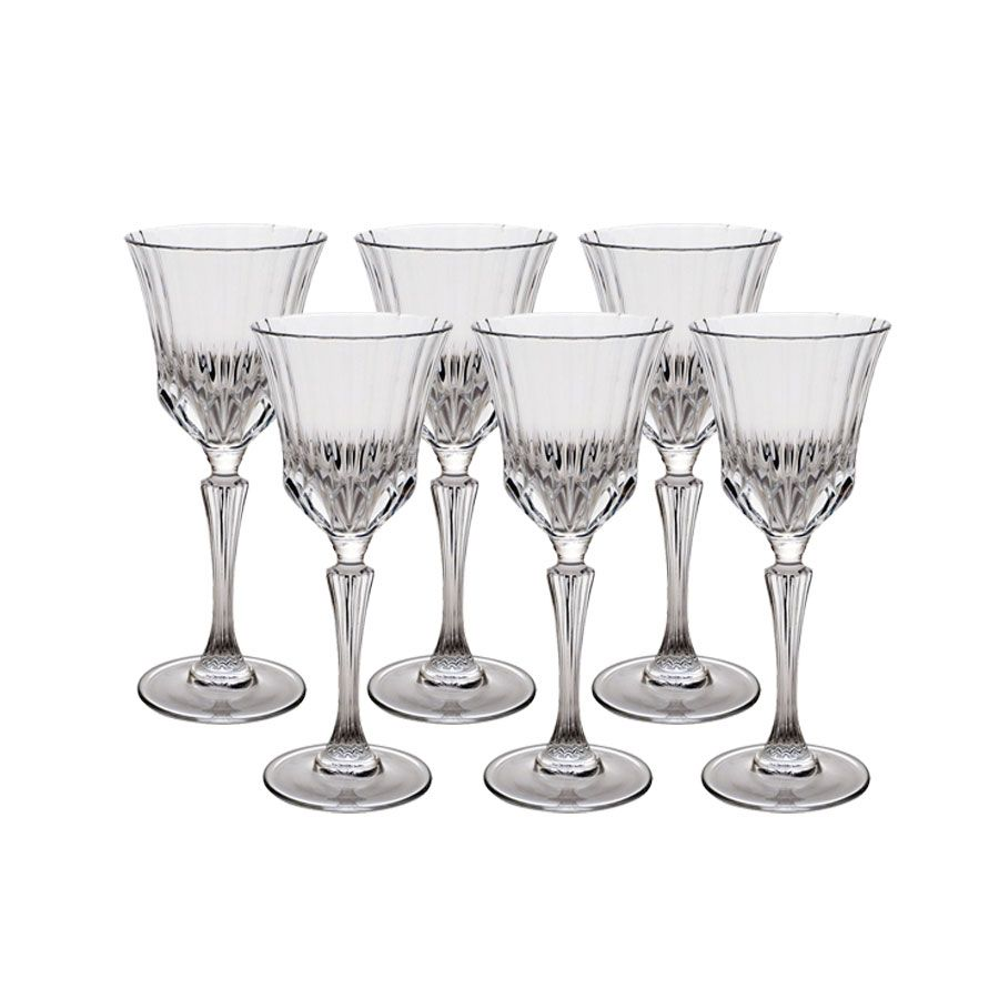 Verres à vin en verre (lot de 6)
