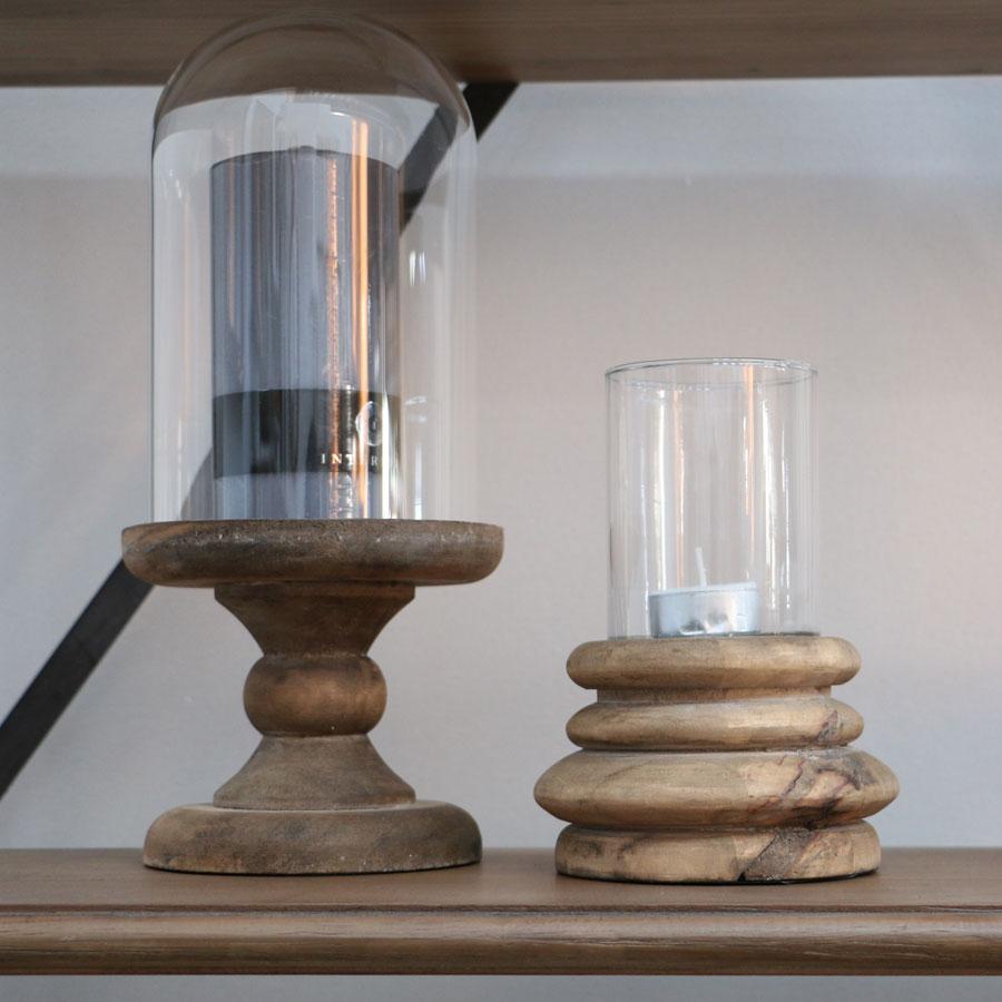 photophore en bois naturel naturel interior 39 s. Black Bedroom Furniture Sets. Home Design Ideas