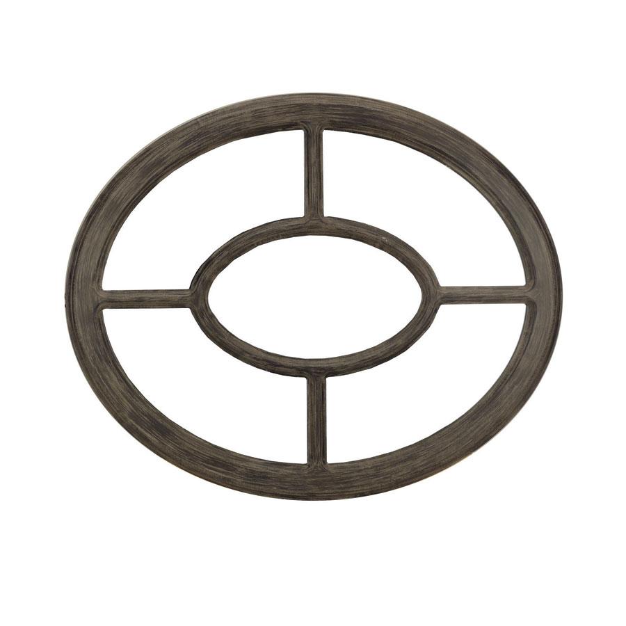 miroir oeil de boeuf ovale gris interior 39 s. Black Bedroom Furniture Sets. Home Design Ideas