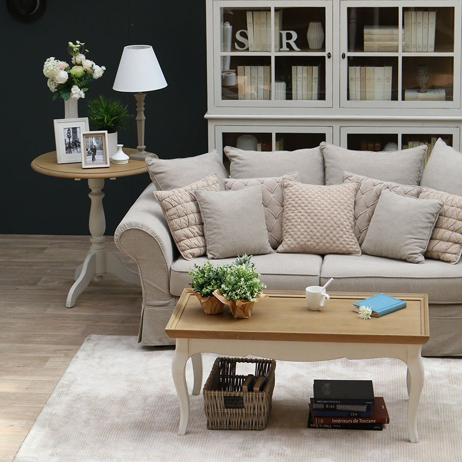 table basse rectangulaire blanc interior 39 s. Black Bedroom Furniture Sets. Home Design Ideas